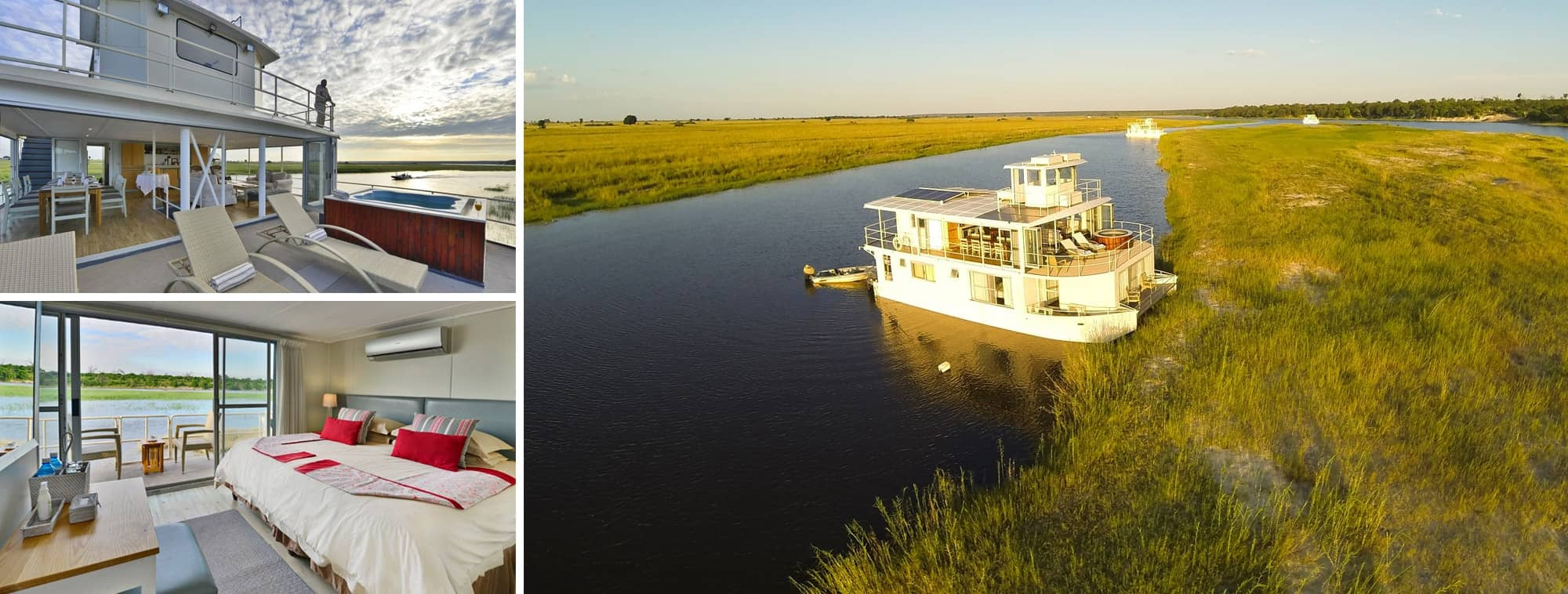 Chobe River Boathouse Short Stay Banner