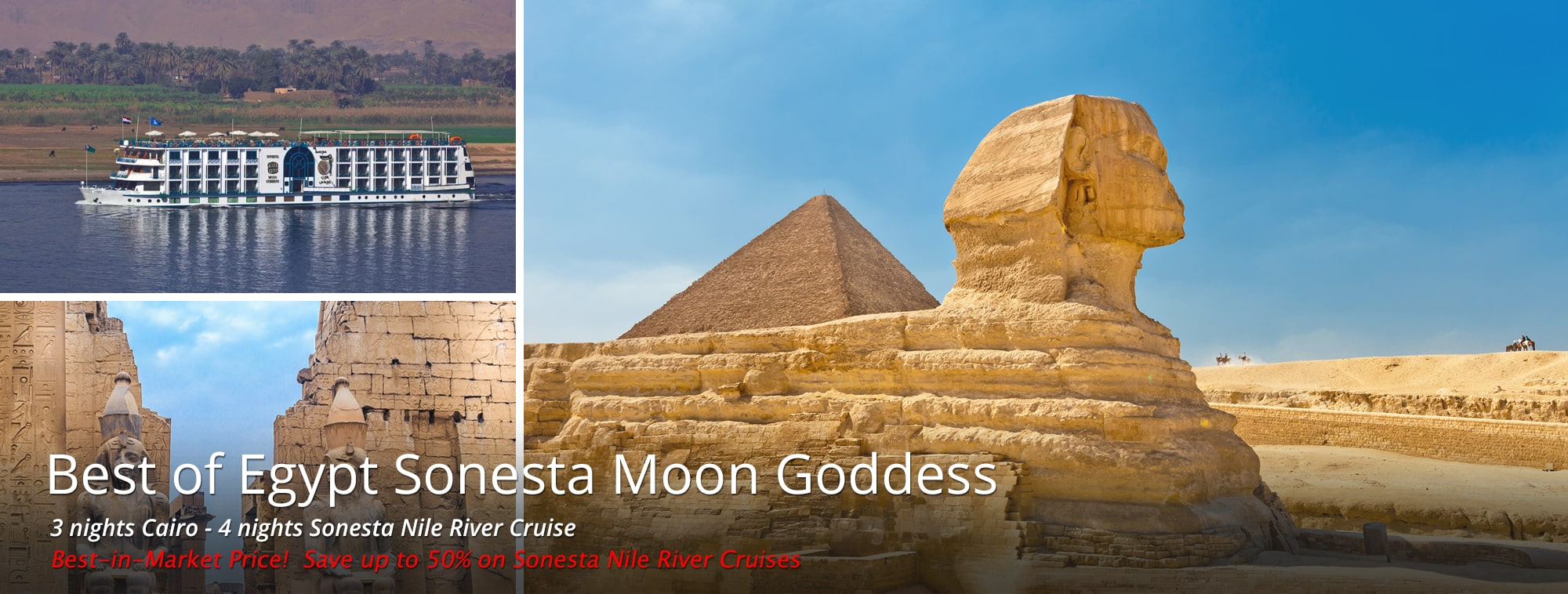 Best of Egypt Sonesta Moon Goddess Tour