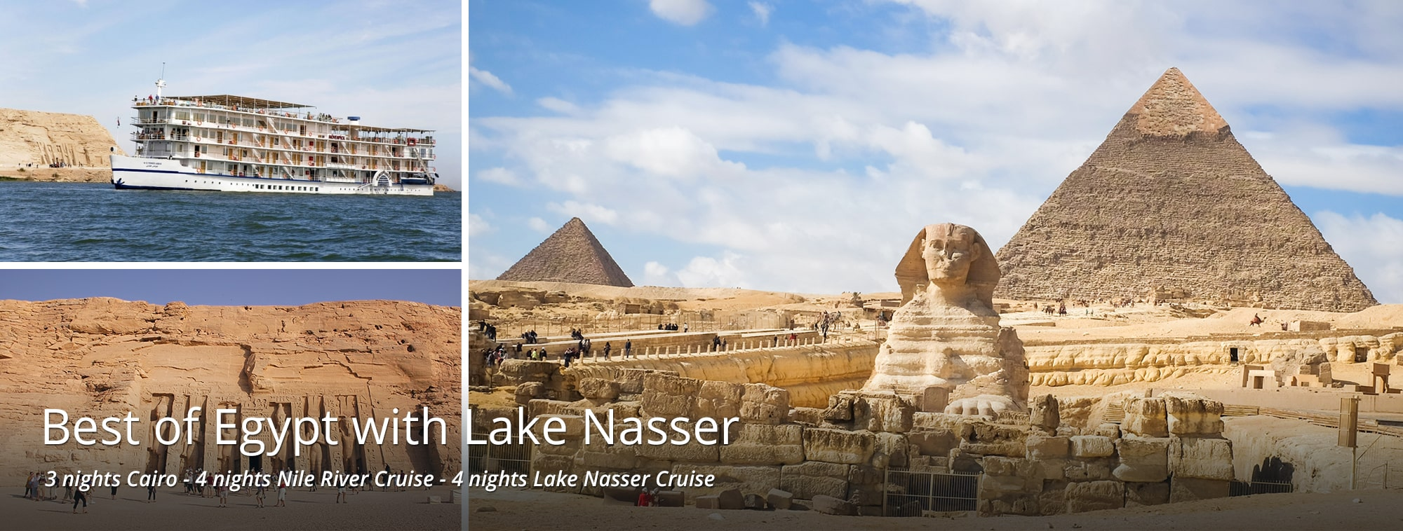 Best of Egypt with Lake Nasser Tour