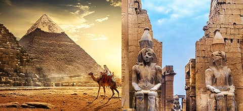 Luxury Egypt Tour Banner