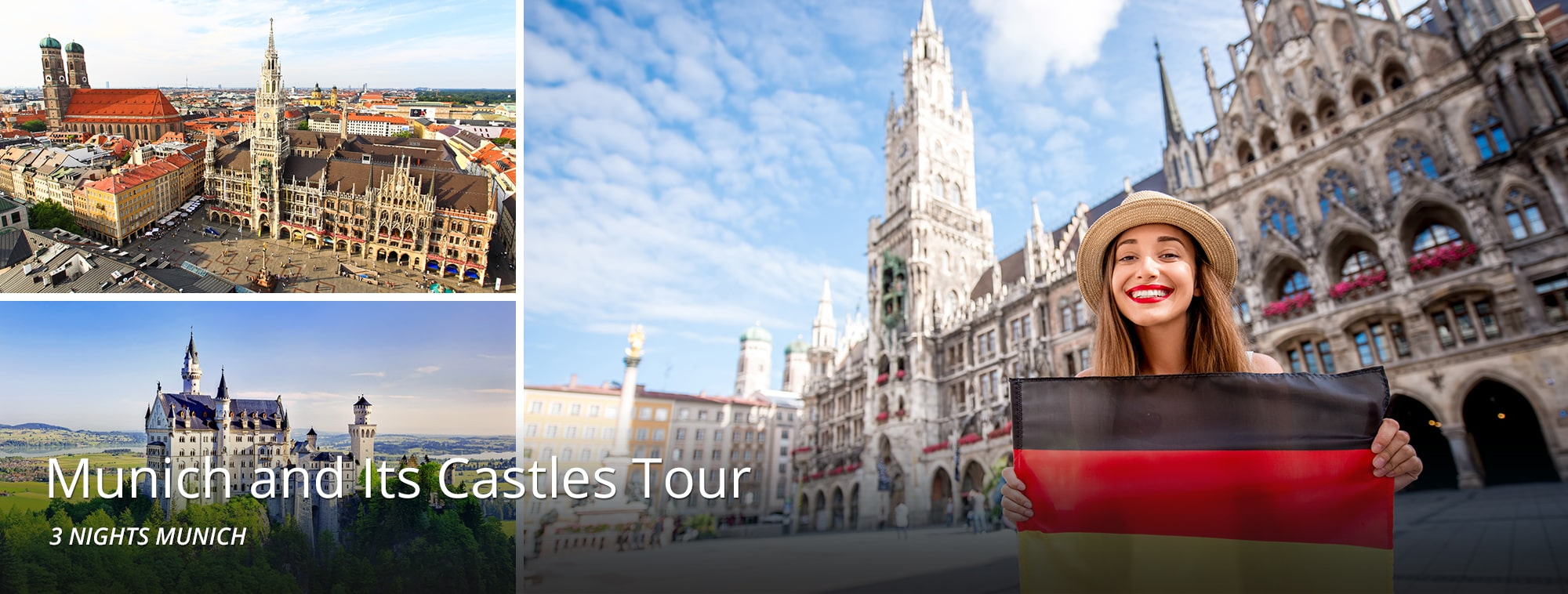 Munich and Its Castles Tour Top Banner