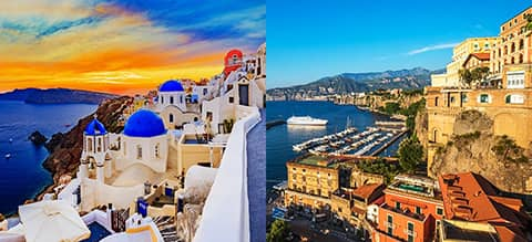 Athens, Greek Islands, & Rome, Sorrento Escape Tour Banner