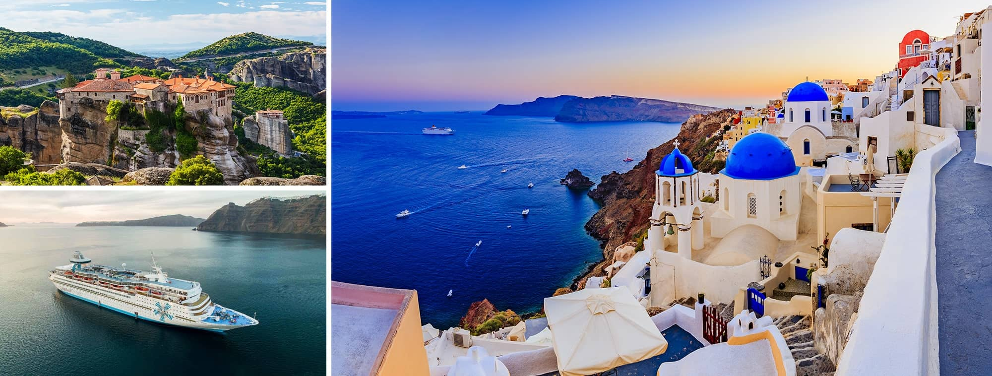 Classic Greece, Greek Islands - Turkey Cruise & Santorini Top Banner