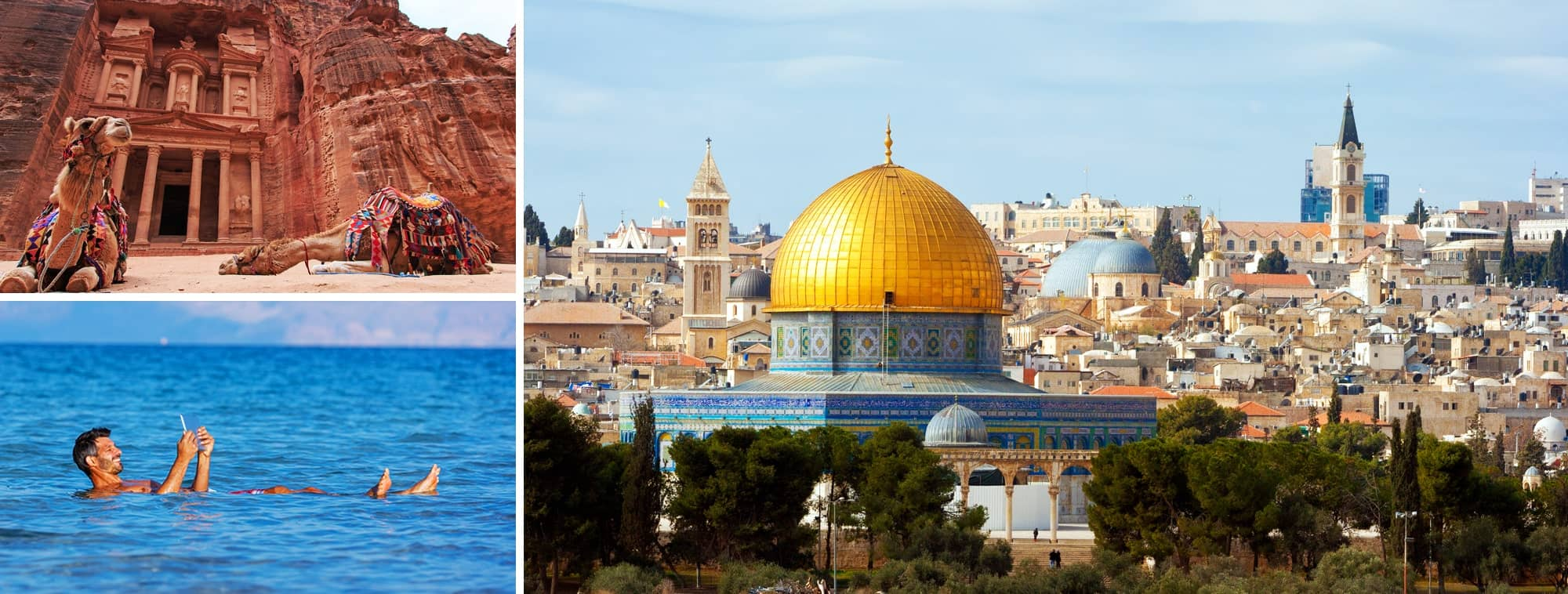 3 nights Jordan & 5 nights Holy Land Tour Banner