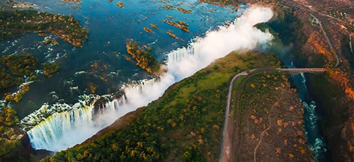 South Africa & Victoria Falls with Chobe Botswana Banner