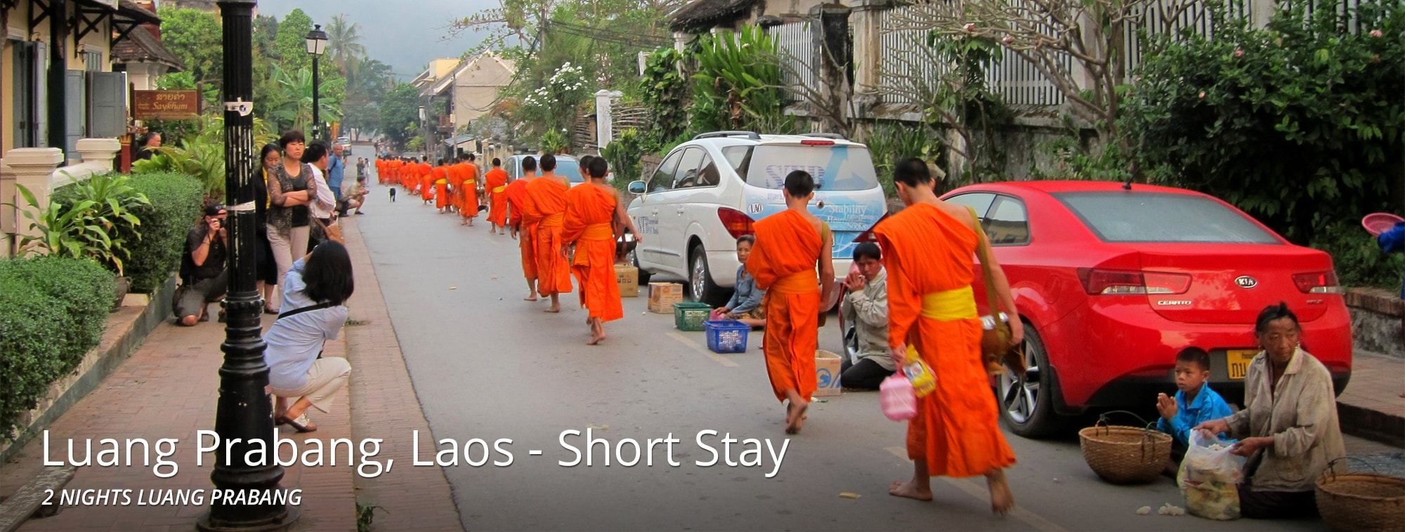 Luang Prabang - Laos Short Stay Top Banner