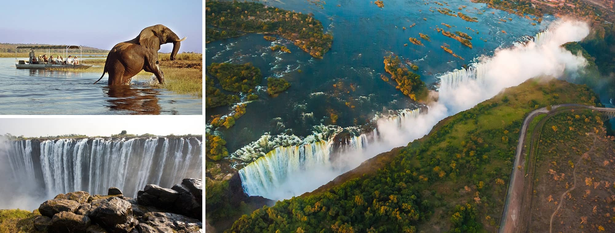 Highlights of Victoria Falls Tour Banner