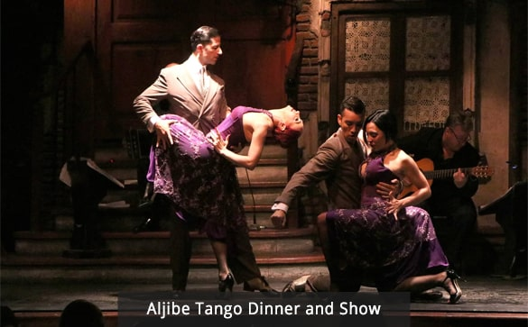 Aljibe Tango Dinner and Show