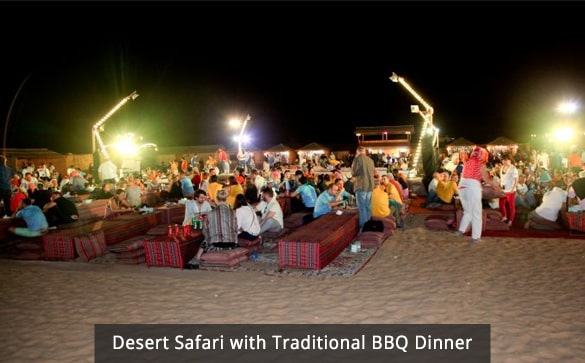Desert Safari with Traditional BBQ Dinner