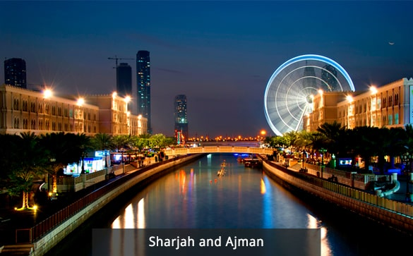Sharjah and Ajman
