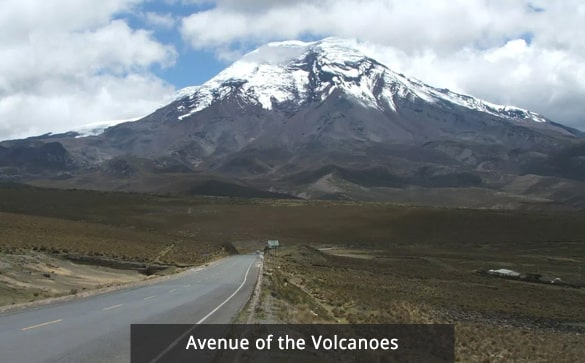 Avenue of the Volcanoes