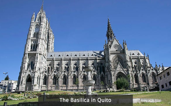 The Basilica in Quito