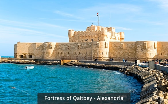 Fortress of Qaitbey - Alexandria