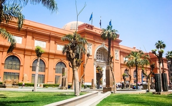 Cairo Egyptian Museum of Antiquities