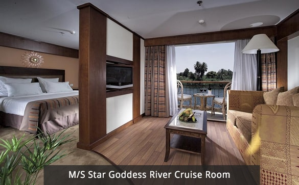 M/S Star Goddess River Cruise Room