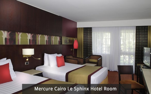 Mercure Cairo Le Sphinx Hotel Room