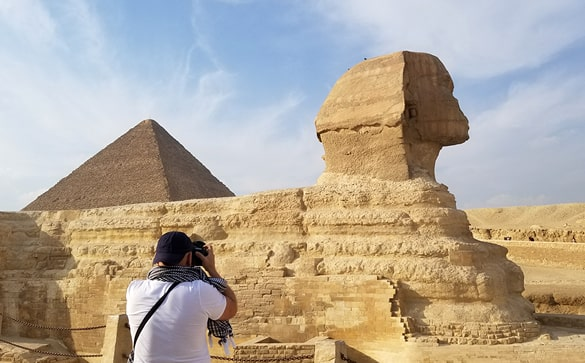 Pyramids & Sphinx of Giza