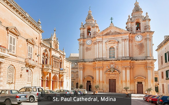 St. Paul Cathedral, Mdina