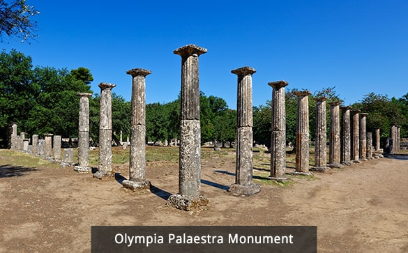 Olympia Palaestra Monument