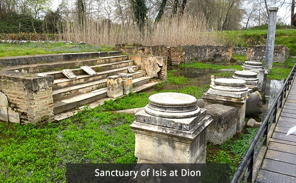 Sanctuary of Isis at Dion