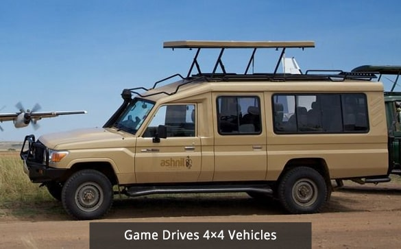 Game Drives 4×4 Vehicles