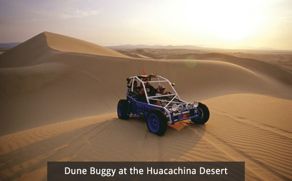 Dune Buggy at the Huacachina Desert