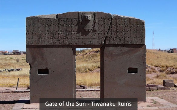 Gate of the Sun - Tiwanaku Ruins
