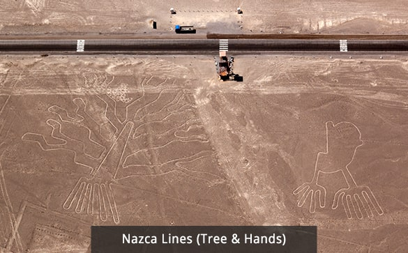 Nazca Lines (Tree & Hands)