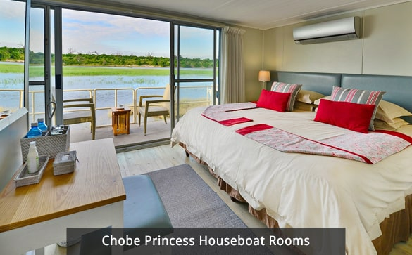 Chobe Princess Houseboat Rooms