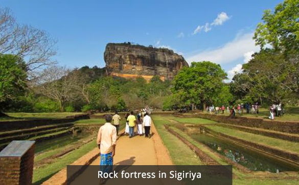 Rock fortress in Sigiriya