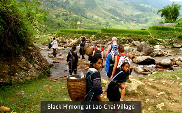 Black H'mong at Lao Chai Village