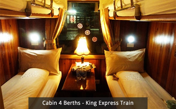 Cabin 4 Berths - King Express Train