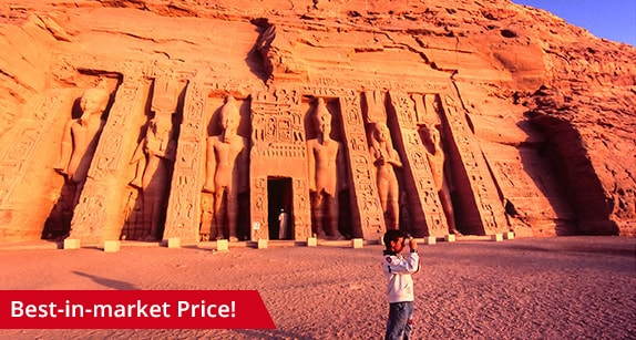 Pyramids, 7 nights Nile Cruise, Abu Simbel & Red Sea