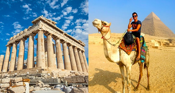 Greece & Egypt Tour