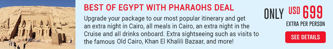 Best of Egypt with Pharaohs Deal
