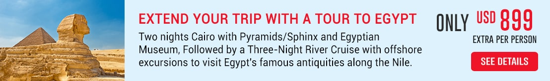 Extend your Trip to Egypt Deal