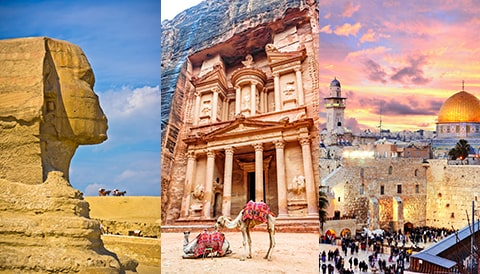 Egypt - Jordan - Israel Review Image