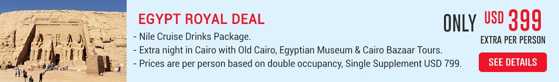 Royal Egypt Deal