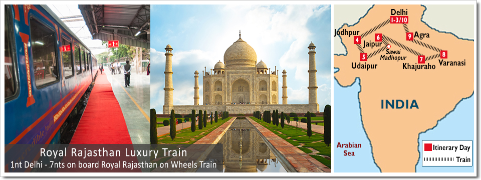 Royal Rajasthan Luxury Train Royal Rajasthan On Wheels