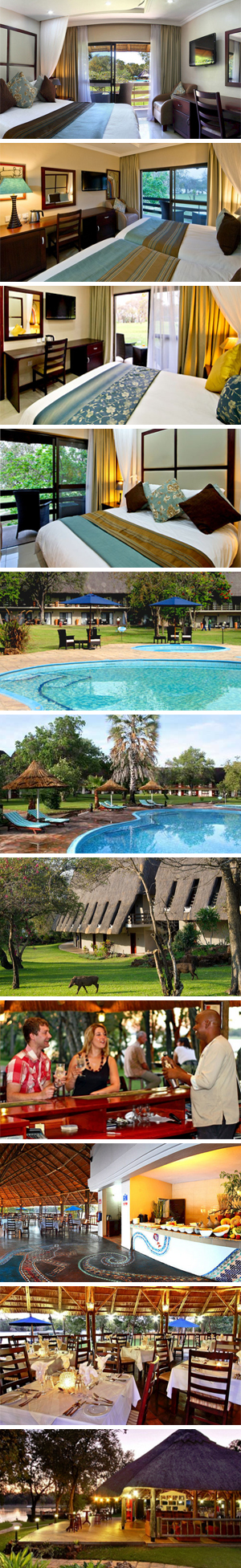 A'Zambezi River Lodge Pics