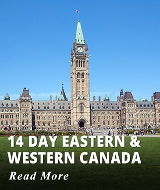 14 day Eastern & Western Canada Tour