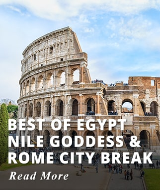 Best of Egypt Nile Goddess & Highlights of Rome Tour