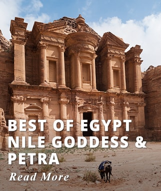 Best of Egypt Nile Goddess & Petra