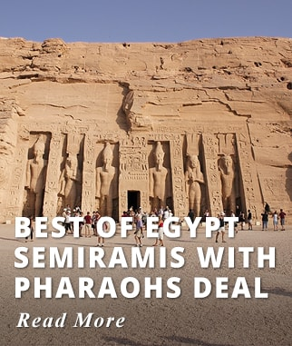 Best of Egypt Semiramis with Pharaohs Deal