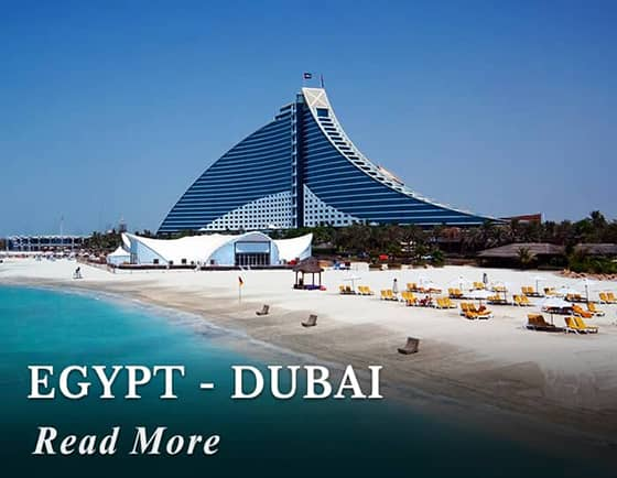 Egypt - Dubai Tours