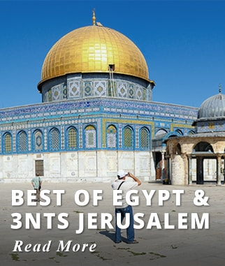 Best of Egypt & 3nts Jerusalem