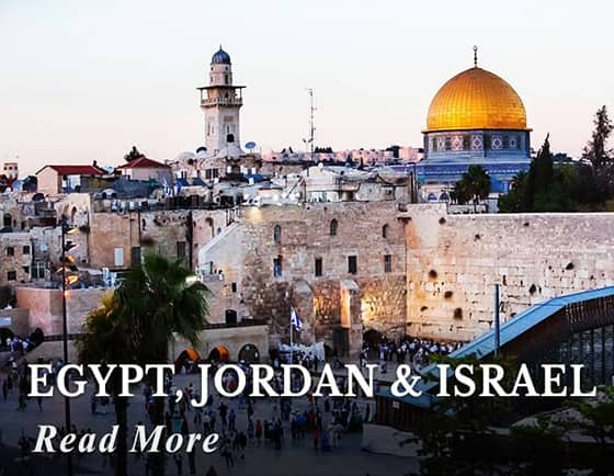 Highlights of Egypt, Jordan & Israel Tour