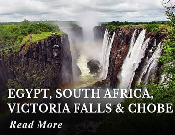 Egypt - South Africa - Victoria Falls - Chobe Tours