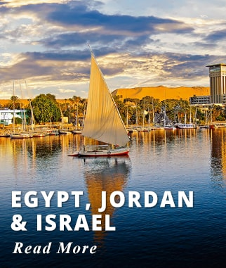 Best of Egypt + Jordan & Israel Tour
