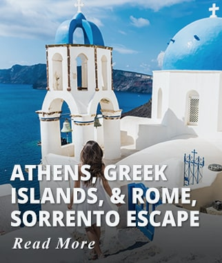 Athens, Greek Islands, & Rome, Sorrento Escape Tour